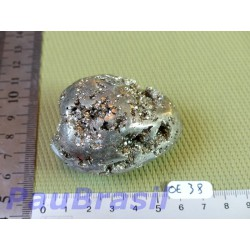 Oeuf en Pyrite 173gr 43mm diam 60mm long