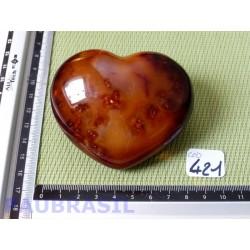 Coeur en Cornaline de 246g
