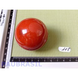 Sphère Jaspe Rouge 177g diamètre 50mm