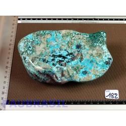 Shattuckite Chrysocolle Congo Q Extra en pierre polie XXL 865gr