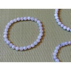 Bracelet Calcedoine Bleue Zonee Q Extra en perles de 6mm