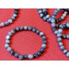 Bracelet Quartz oeil de chat Q Extra en perles de 8mm