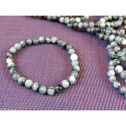 Bracelet Quartz oeil de chat Q Extra en perles de 6mm