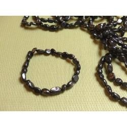 Bracelet Hypersthène en mini pierres roulées Q Extra