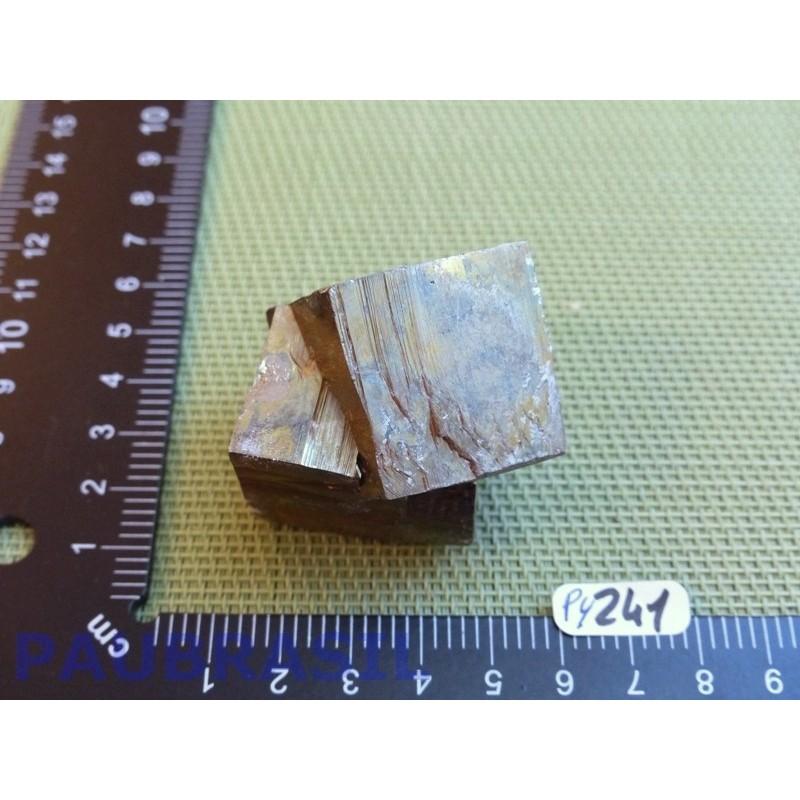Pyrite amas cubique collection de 169 gr Q Extra