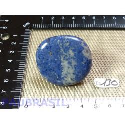 Dumortiérite bleue en galet plat de 29g