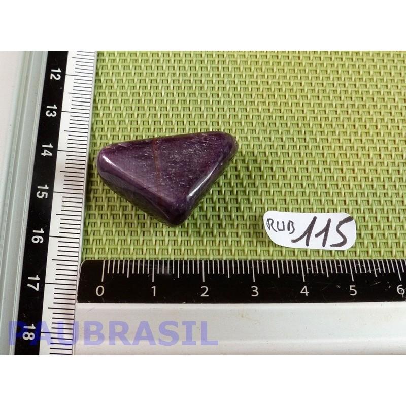 RUBIS Inde Q Extra en pierre roulée de 14gr70