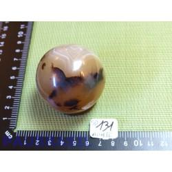Sphère Agate Naturelle Dendritique Q Extra 216gr diamètre 54mm