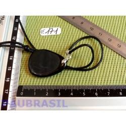 Pendentif Hypersthène mini pierre plate 11gr Q moyenne
