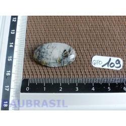 Cabochon en Quartz Tourmaline Q Extra Brésil 4gr60