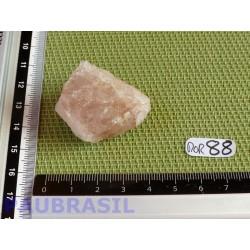 Morganite Cristallisée Q Extra en Pierre Brute 35gr
