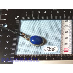 Pendentif Lapis Lazuli Cabochon Q Extra 6gr monture argent 925
