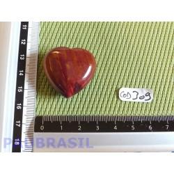Coeur en Jaspe Rouge 18g