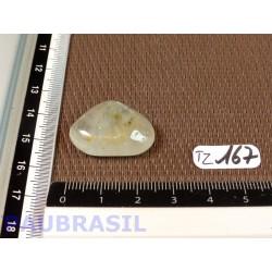 Topaze bleu clair Q Extra pierre roulée 9gr
