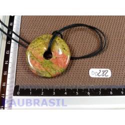 Pi Donut Unakite de 4 cm