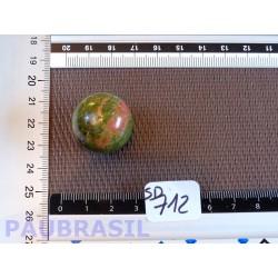 Sphère Unakite 25g 25mm diamètre