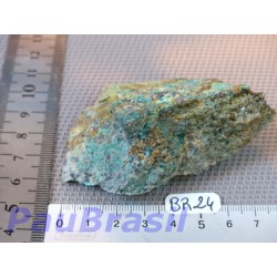 Brochantite du Nevada en pierre brute de 129g