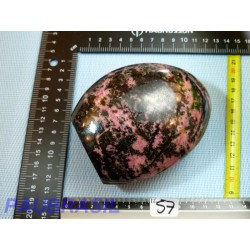 Rhodonite Q EXTRA Forme Libre 1043g