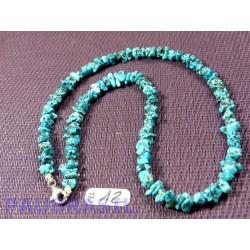 Collier baroque Turquoise de Sonora Mexique 44 cm Q Extra