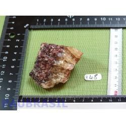 Calcite Hématocrite Brute Q Extra Mexique 120g