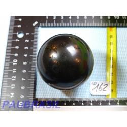 Sphère en Tourmaline Noire Inde 307gr 58mm diamètre qualité moyenne
