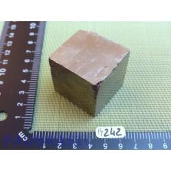 Pyrite cubique de 244gr
