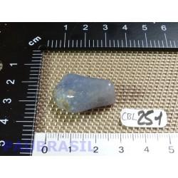 Calcedoine Bleue Pierre Roulée Q Extra 7g Namibie