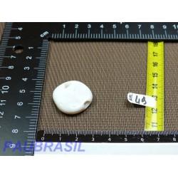 Nacre blanche en Mini Pierre Plate 7g