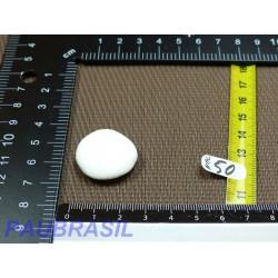 Nacre blanche en Mini Pierre Plate 8g