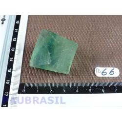Fluorine Fluorite Verte en Pierre Brute Octaedre 45gr