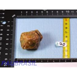 Grenat vert grossulaire en pierre brute de 65g du Mali