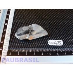 2 Pointes jumelées en cristal de roche pour lithothérapie 16gr