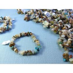 Bracelet baroque en Opale des Andes Q Extra
