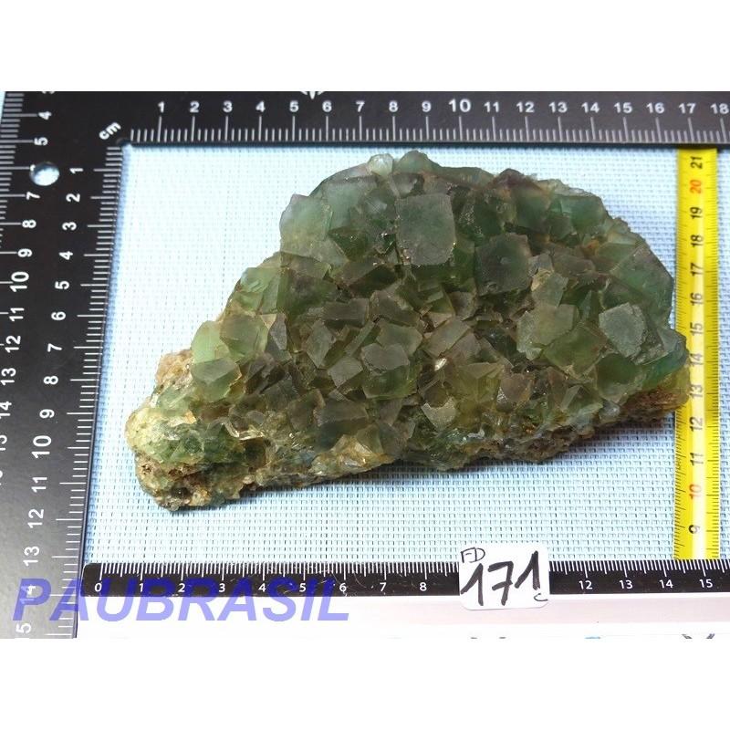 Fluorite vert bouteille  Namibie Q Extra 700g  pièce SUPERBE