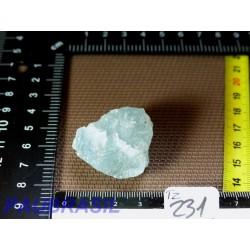 Topaze bleue brute qualité Gemme 37g