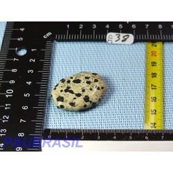 Jaspe Dalmatien Lamparci en mini pierre plate 16gr