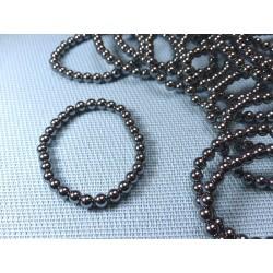 Bracelet Silicium en perles de 6mm