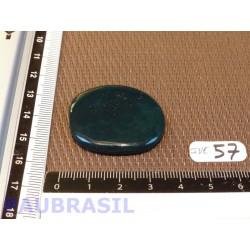 Jaspe Vert en pierre plate fine de 9g