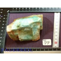 Amazonite en Pierre brute 419gr du Brésil