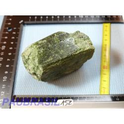 Diopside - Chrome diopside en pierre brute 456gr Q Extra