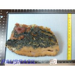Tranche d agate naturelle Q Extra Brésil 159g Rare