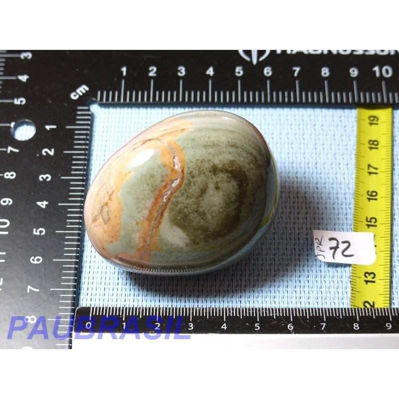 Jaspe Polychrome en galet poli Q Extra 160gr