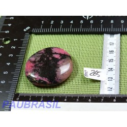 Rhodonite Q Extra Pierre plate 39g