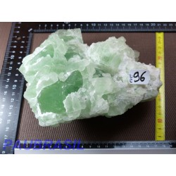 Fluorine Fluorite Verte brute Q Extra du Hunan 1950g