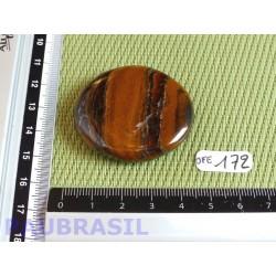 Oeil de fer en pierre plate 32g qualité moyenne