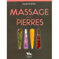 Minéraux livre: massage avec les pierres Ewald Kliegel
