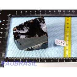 Obsidienne noire en Pierre Brute de 148gr