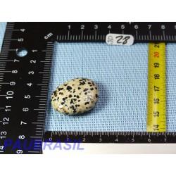 Jaspe Dalmatien Lamparci en mini pierre plate 14gr