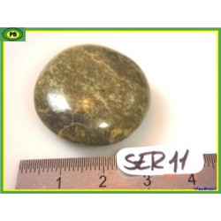 Serpentine du Pérou en pierre roulée 17g