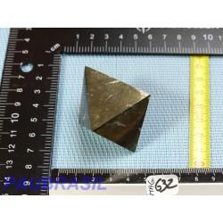 Magnétite octaédrique polie 127gr 58x51mm